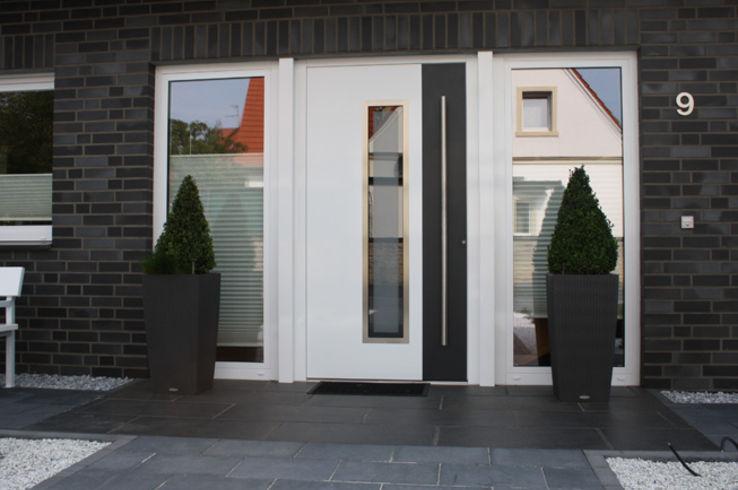 Weiße Haustüren aluwint aluminium wintergärten zevenbergen haustüren